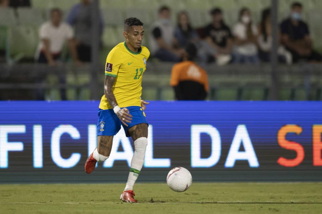 Raphinha faz uma ótima estreia na Seleção Brasileira