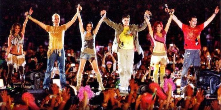 RBD durante 'Live in Rio'
