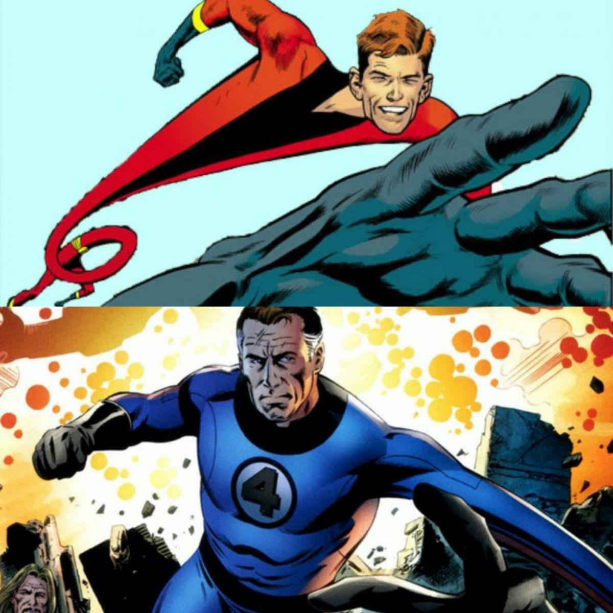 FONTE : Montagem/ Reprodução: DC Comics/ Marvel Comics