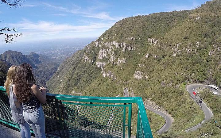 Mirante da Serra (Foto: Viagens e caminhos)
