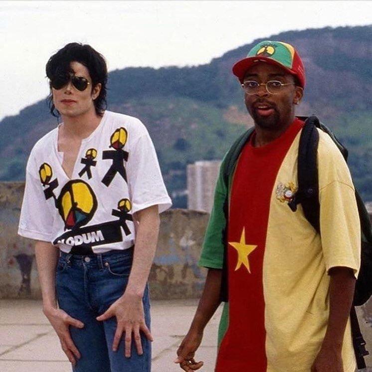 Lee e Michael no Brasil