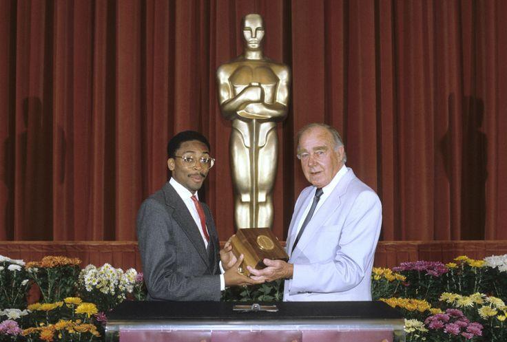 Spike Lee recebendo seu Student Academy Award