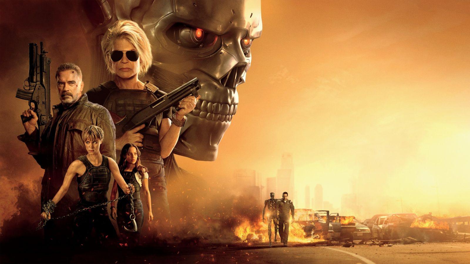 Poster de O Exterminador do Futuro: Destino Sombrio (2019)