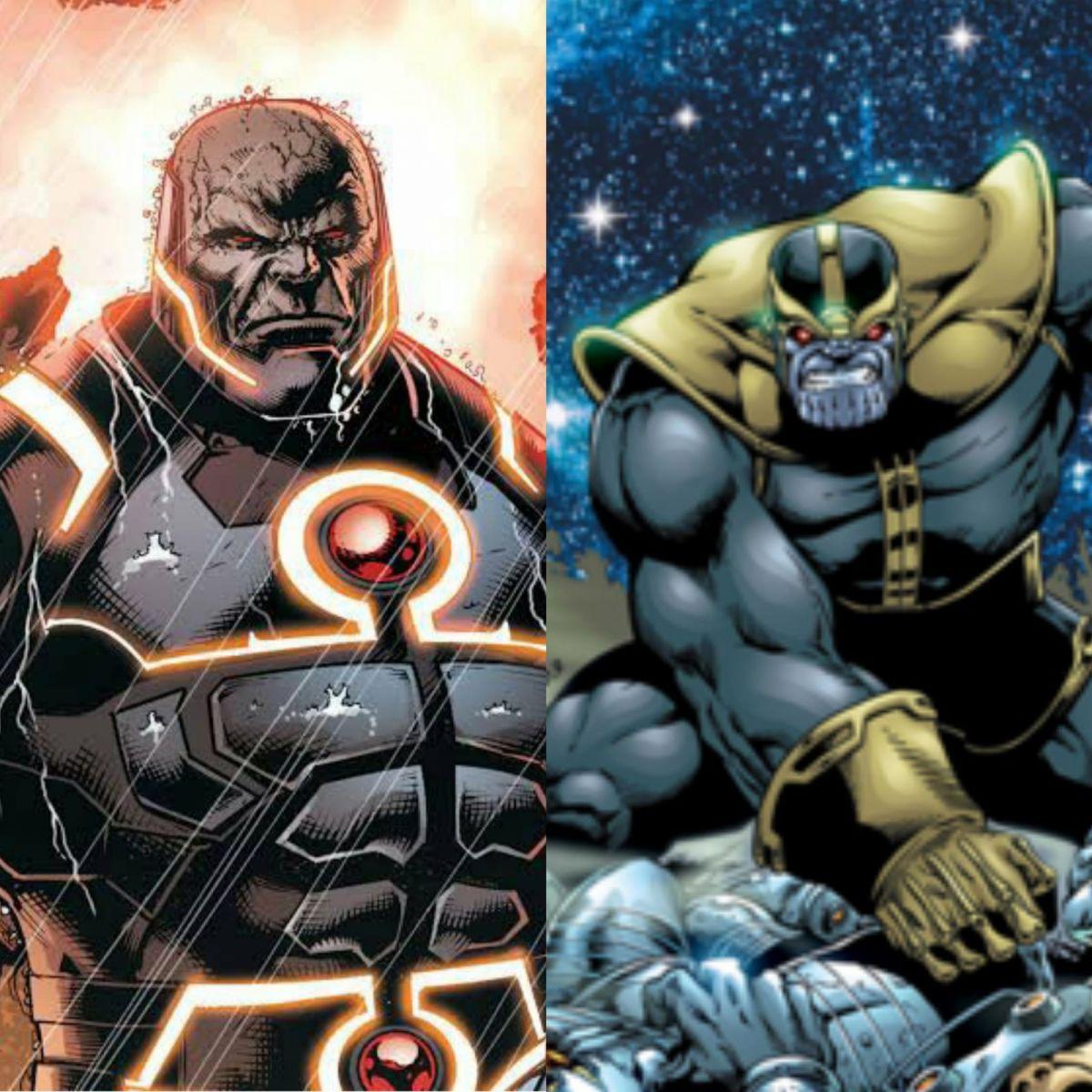 FONTE :Montagem/ Reprodução : DC Comics/ Marvel Comics.