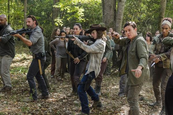 (Cena de The Walaking Dead. Reprodução: AMC)