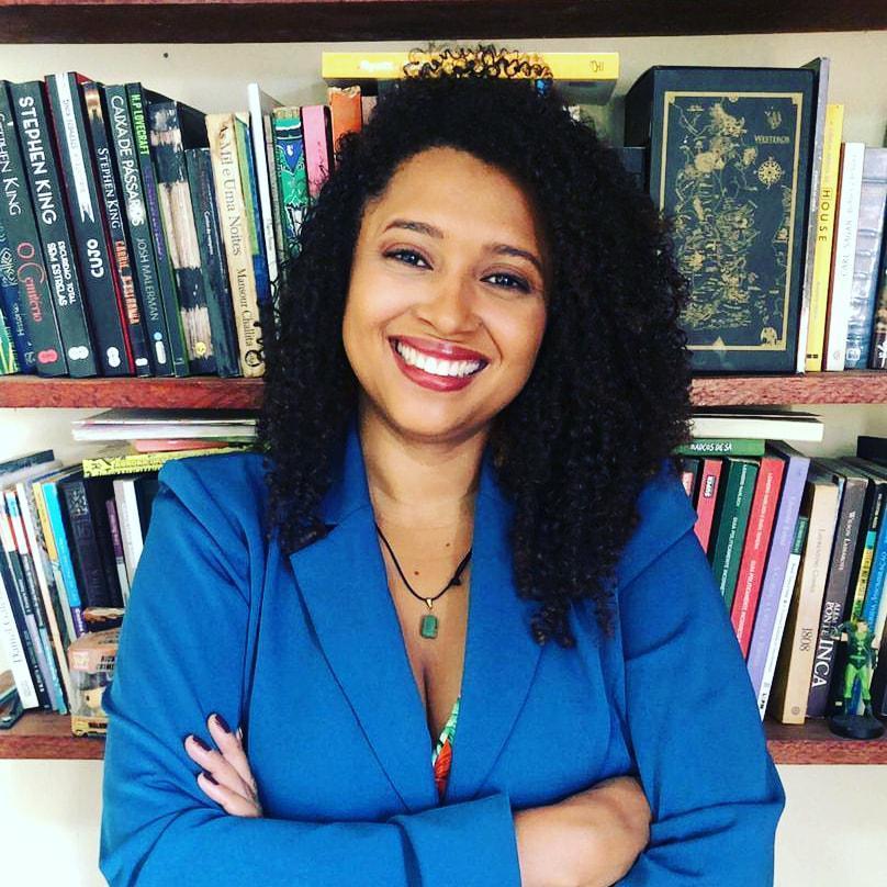 Vanessa Amaral, escritora de folclore. Foto: arquivo pessoal