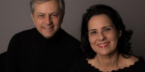 Projeto Allegro Vivace recebe os pianistas Celina Szrvinsk e Miguel Rosselini