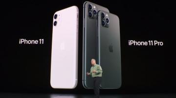 Apple apresenta o iPhone 11 e 11 Pro/ Max