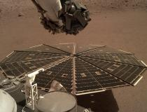 Nasa 'ouve' ruídos abaixo da superfície de Marte pela 1ª vez