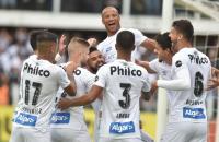 Santos inicia sequência que lhe rendeu sete vitórias e a liderança do Brasileirão