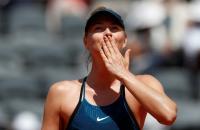 Maria Sharapova diz adeus ao Tênis