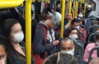 Superlotação nos ônibus que circulam em Volta Redonda-RJ assusta passageiros, motoristas e cobradores