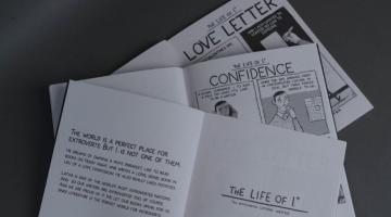 História em quadrinhos mostra como é viver no país dos introvertidos