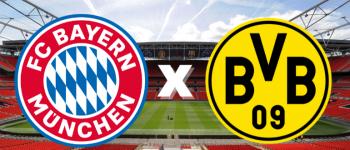 No confronto dos melhores ataques da Bundesliga, Bayern de Munique e Borussia Dortmund duelam