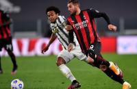Milan vence Juventus no Italiano e segue firme na briga por vaga na Champions.