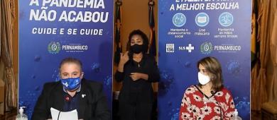 Prorrogação do novo decreto em Pernambuco