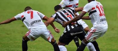 Atletico derrota o São Paulo, que permanece sem vencer no brasileirão