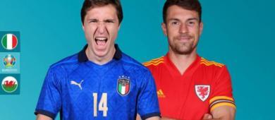 Classificada e empolgada, Itália enfrenta o País de Gales