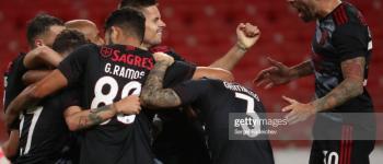 Benfica derrota Spartak Moscou e se aproxima de vaga na Champions