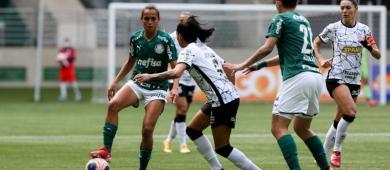 No Dérbi pelo Paulistão, Palmeiras e Corinthians ficam no empate