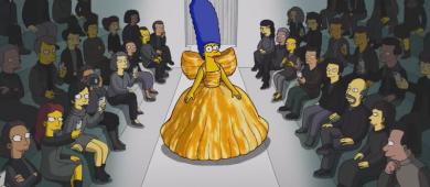 Os Simpsons fazem estréia na semana de moda de Paris e marcam desfile da Balenciaga