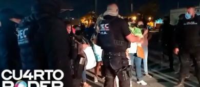 Jornalistas são atacados pela Polícia Civil e  são impedidos de documentar protesto na cidade de Coahuila no México