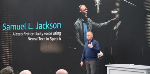Alexa utiliza voz de famosos para responder usuários