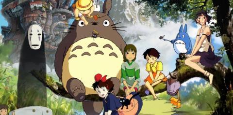 Filmes do Studio Ghibli Chegarão na Netflix
