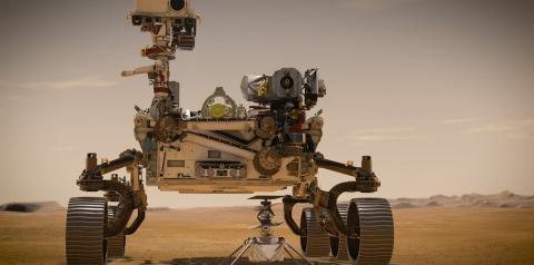 NASA envia robô para Marte