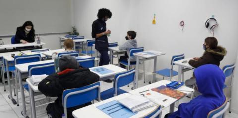 Volta às aulas na capital paulista