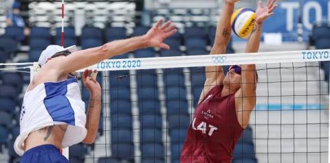 Alison e Álvaro falham no ataque e são eliminados da Olímpiadas