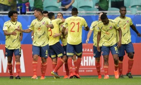 Colômbia supera Paraguai e  mantém invencibilidade no grupo B
