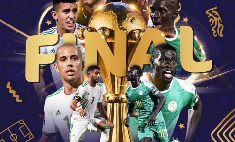 Contra a Argélia, Senegal luta pelo título inédito da Copa Africana