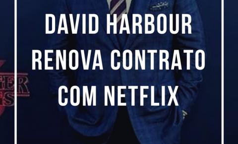 David Harbour renova contrato com Netflix e fãs criam possíveis teorias da 4ª temporada de Stranger Things
