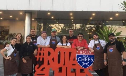 Rota dos Chefs chega a terceira edição em Manaus