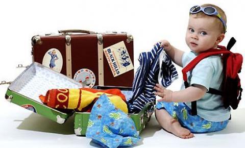 Lugares incríveis para viajar com seu bebê com conforto e segurança