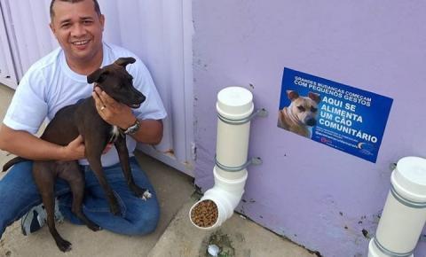 'Quem Ama Cuida', o projeto social que alimenta animais de rua