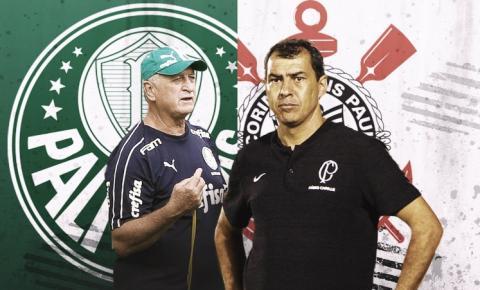 É Derby! Corinthians e Palmeiras se enfrentam, neste domingo, às 19h, em Itaquera