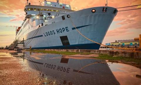 Logos Hope: a maior livraria flutuante do mundo vem para o Brasil