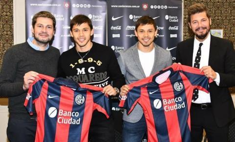San Lorenzo anuncia a contratação dos irmãos Romero