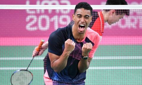 Ygor Coelho vence canadense e conquista ouro inédito no Badminton