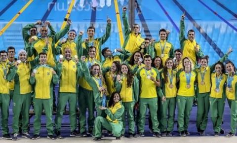 Natação brasileira comemora campanha histórica nos Jogos Pan-Americanos 2019
