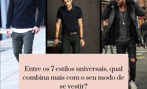 Moda masculina: como descobrir o seu estilo buscando inspirações