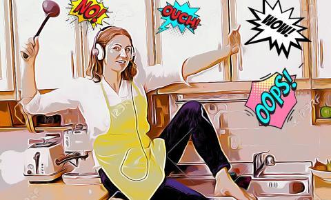 5 erros de quem está começando na cozinha