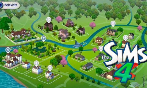 Jogador recria vizinhança do The Sims 2 no The Sims 4