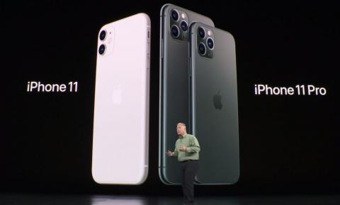 Apple apresenta o iPhone 11 e 11 Pro/ Max