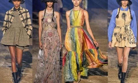 Toques de natureza e a Dior apresenta a pauta ambiental na PFW