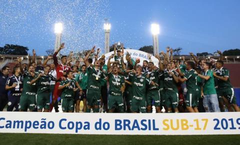 Palmeiras vence o  São Paulo e sagra-se bicampeão da Copa do Brasil Sub-17