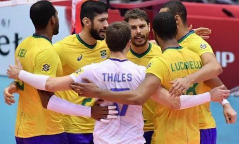 Invicto, Brasil encara Polônia para encaminhar o título da Copa do Mundo de Vôlei