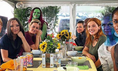 Brie Larson comenta sobre filme de heroínas na UCM